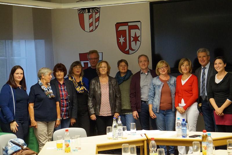 Team-Bild der Nachbarschaftshilfe in Klosterlechfeld.