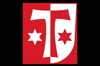 Das Wappen der Gemeinde Klosterlechfeld.