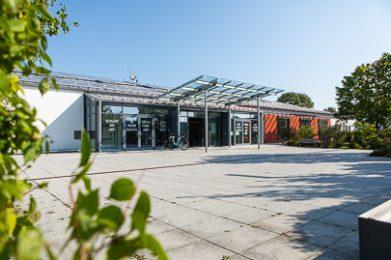 Die Gemeindebücherei in Graben.