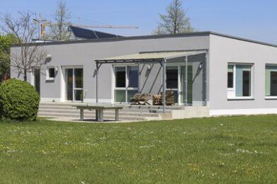 Foto vom Jugendhaus in Graben.