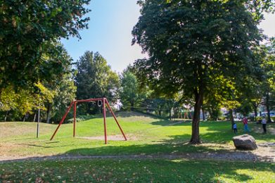 Spielplatz in der Schulstraße in Klosterlechfeld.