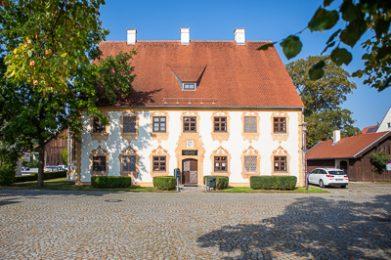 Das Haus Imhof in Untermeitingen.