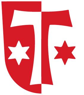 Das Wappen der Lechfeld-Gemeinde Klosterlechfeld.