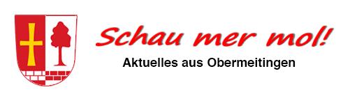 "Logo vom Gemeindeblatt ""Schau mer mol!"" in Obermeitingen"