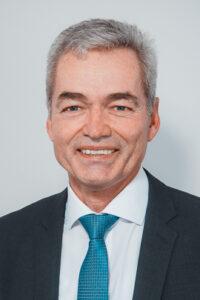 Portrait des Obermeitinger Bürgermeisters Erwin Losert.