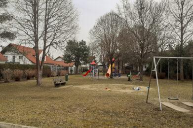 Der Spielplatz Augustaweg in Untermeitingen